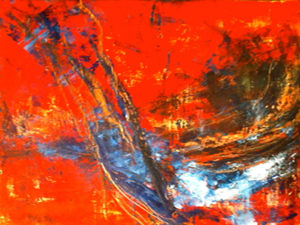 Hot & Cold Wax Painting